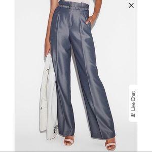 Express High-Waisted Wide Leg Pants